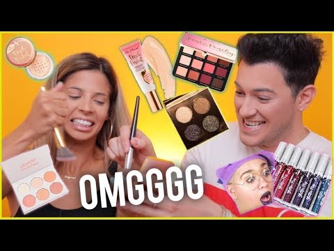 TESTING VIRAL INSTAGRAM MAKEUP WITH LAURA LEE!