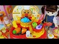 Download Lagu Baby doll and kitchen food cooking toys surprise egg play - 토이몽 Mp3 Free
