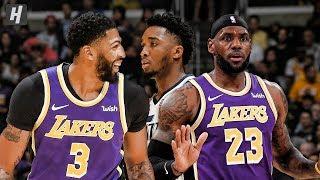 Utah Jazz vs Los Angeles Lakers - Full Game Highlights   October 25, 2019   2019-20 NBA Season