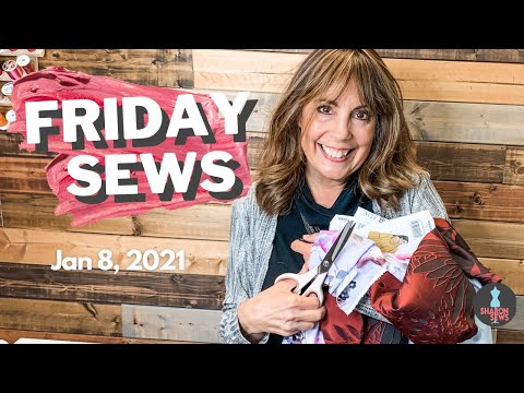 Virtual SEWING Expos, SEWING Projects, SEW CONFIDENT ~ #FridaySews Sewing Chat