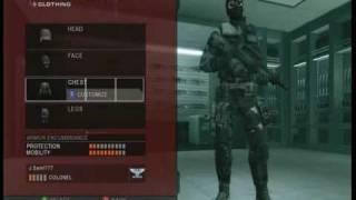 Rainbow Six Vegas 2- Sam Fisher / Splinter Cell Operative