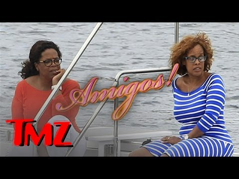 ibiza - Oprah and Gayle had a girls' getaway in Ibiza, Spain. Even O wants to check out the new celebrity hot spot!