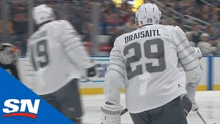 Matthew Tkachuk Sets Up Leon Draisaitl For A Goal In The 2020 All-Star Tournament by Sportsnet Canada