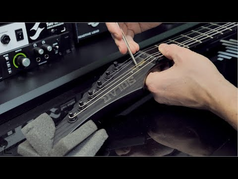 Adjusting String Height and Action Setup