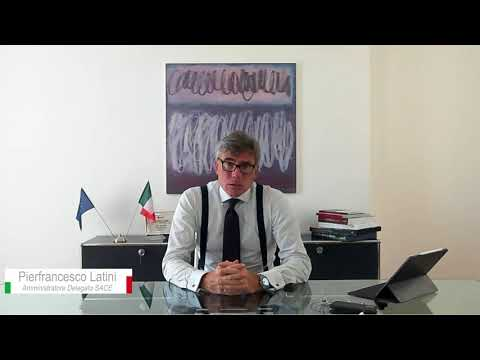Intervento Pierfrancesco Latini, Amministratore Delegato di SACE    Private Debt Award  2020