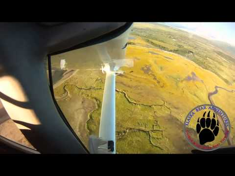 Alaska Bush Flying in Katmai National Park
