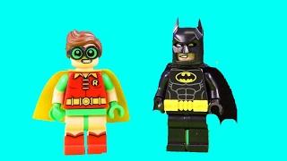Lego The Batman Movie Penguin Tries To Break Penguin Friends Out Of Jail Batman Meets Robin