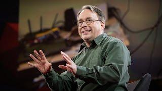 Video The mind behind Linux | Linus Torvalds MP3, 3GP, MP4, WEBM, AVI, FLV Juni 2018