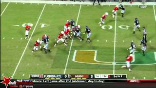 Stephen Morris vs FAU (2013)