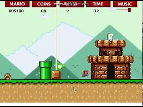Super Flash Mario Bros!!! (RAGE) Smiley Clouds!