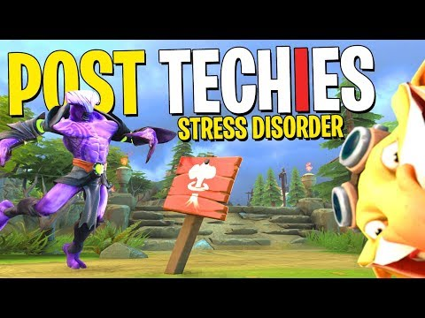 Faceless Void Has Post Techies Stress Disorder - DotA 2