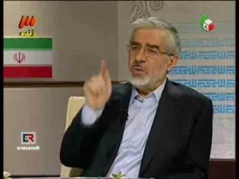 Monazereh - Debate - Mousavi-Ahmadinejad (видео)