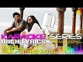 Vaathilil | Karaoke Series | Track With Lyrics | Film Usthad Hotel