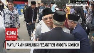 Video Ma'ruf Amin Kunjungi Pesantren Modern Gontor MP3, 3GP, MP4, WEBM, AVI, FLV Januari 2019