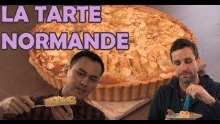 Hervé Cuisine Chez Vous... Une Tarte Aux Pommes Normande