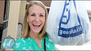 GOODWILL SECRETS YOU *NEED* TO KNOW! 💙 I literally saved $300 in this video alone!