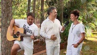 Entrevista com a cantora Danny Caruso - Visita Record
