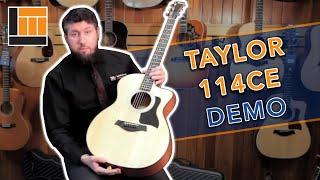 Download Lagu Taylor 114ce Grand Auditorium Acoustic/Electric [Product Demonstration] Mp3