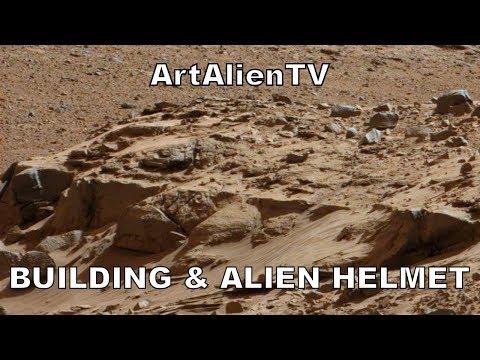 MARS Building Foundations & Ancient Alien Helmet. Curiosity Anomalies. ArtAlienTV – MARS ZOO 1080p