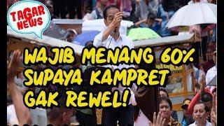 Video Upaya Jokowi Menang 60%, Harus Atau Kubu Rewel Bakal Teriak Curang! MP3, 3GP, MP4, WEBM, AVI, FLV Maret 2019