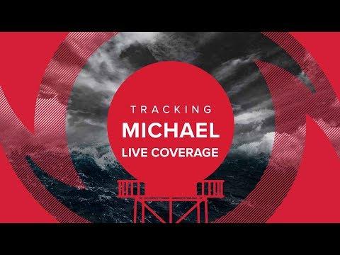 Tropical Storm Michael live coverage