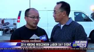 Suab Hmong News:  Pre-show 2014 Hmong Wisconsin Labor Day Event 08/29/2014