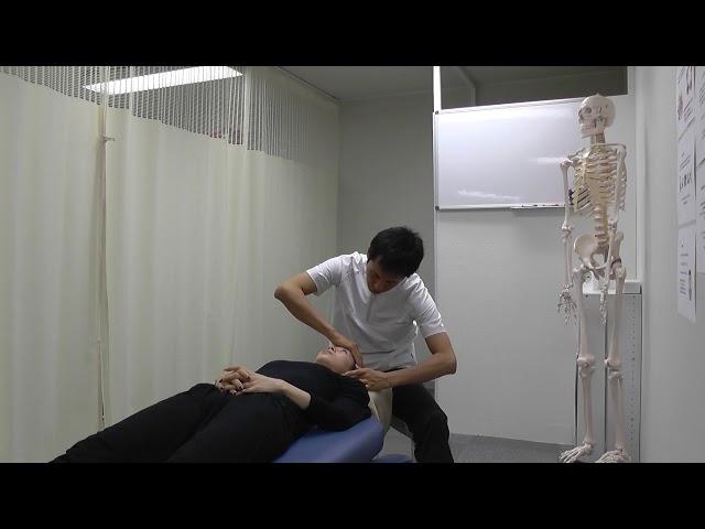 【施術動画】小顔矯正 5 顔のリンクルケア