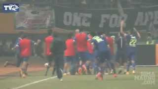 Download Video Highlight Persib vs Arema Semifinal ISL 2014 MP3 3GP MP4