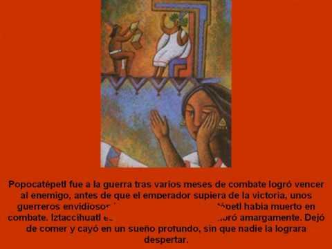 iztaccihuatl y popocatepetl leyenda corta