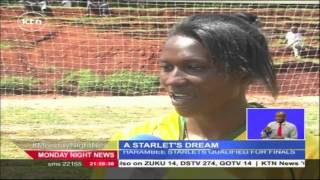 Veronica Wafula Hopes To Get A Call Up To The National Women's Football Team, Harambee Starlets