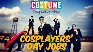 COSPLAYERS' DAY JOBS | NYCC 2015