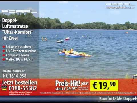 """PEARL Doppel-Luftmatratze """"Ultra-Komfort"""" für Zwei"""