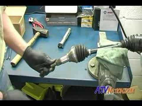 how to rebuild rhino cv joint