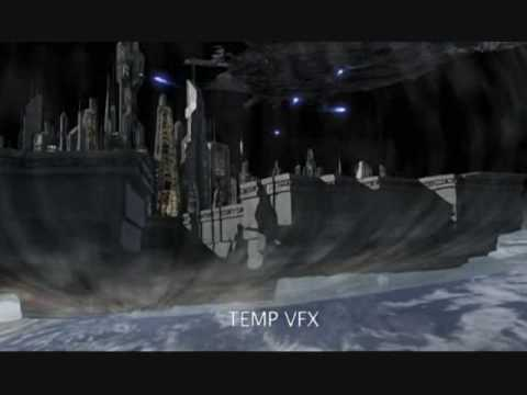 Atlantis vs ZPM Wraith hive over Earth