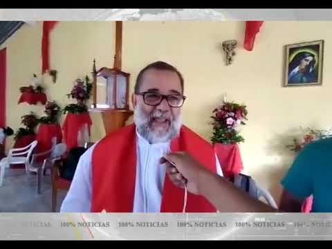 "Sacerdote Eliar Pineda compara al FSLN con Pablo Escobar ""plata o plomo"", Iglesia sigue perseguida"