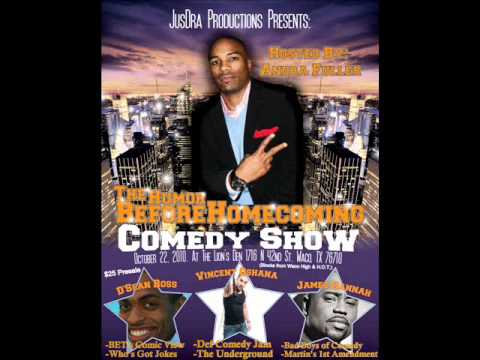 Humor Before Homecoming Comedy Show