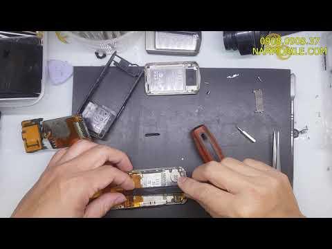 Sửa Vertu Acsent liệt phím mất đèn màn hình