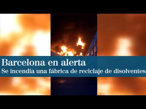 Video - Ισπανία: Μεγάλη πυρκαγιά σε χημικό εργοστάσιο (βίντεο)
