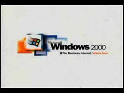 Windows 2000 Startup Animation