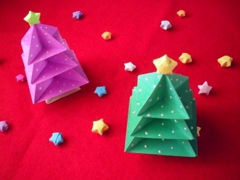 origami - albero di natale