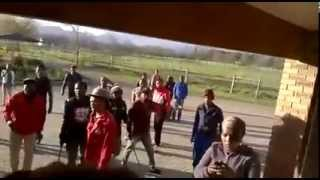 EFF And Students Riot At Elsenburg, Stellenbosch | 1 September 2015