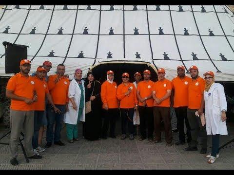 بأسفي حملة لتحاقن الدم من تنظيم الرابطة المغربية للمواطنة وحقوق الانسان 27/07/2017