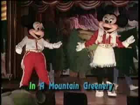 Mountain Greenery (Mickey's Fun Songs) видео