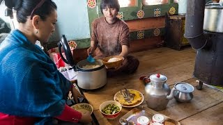 Subscribe for more videos: http://bit.ly/MarkWiensSubscribe On Day 17 of our Bhutan travel and food trip we drove from Phobjikha Valley back to Thimphu, ...