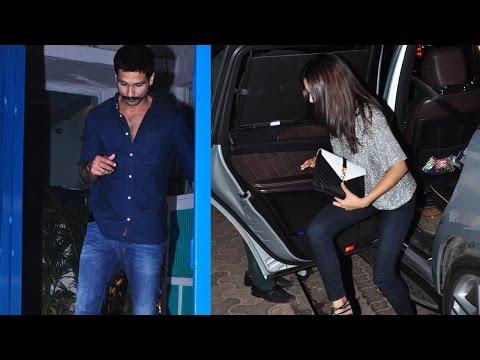 Lovebirds Shahid Kapoor And Mira Rajput On A Dinne