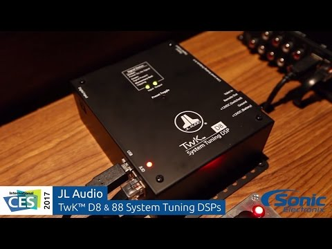 JL Audio TwK System Tuning DSPs & TüN DSP Control Software | CES 2017