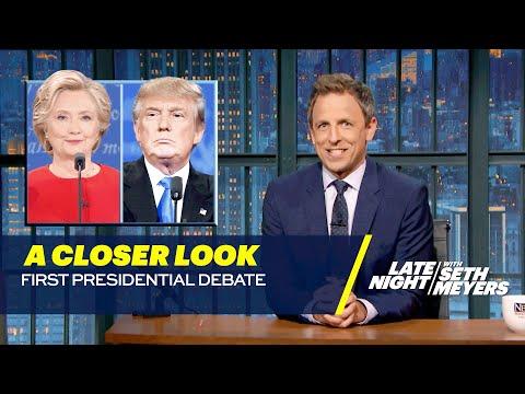 A Closer Look: First Presidential Debate