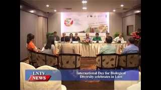 VO International Day for Biological Diversity celebrates in Laos INTRO: Representatives from the government, the United Nations ...