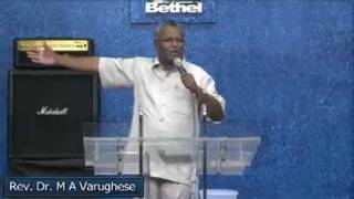 Malayalam Bible Study On Creation and Spiritual Warfare:- By Rev. Dr.M A Varughese -02