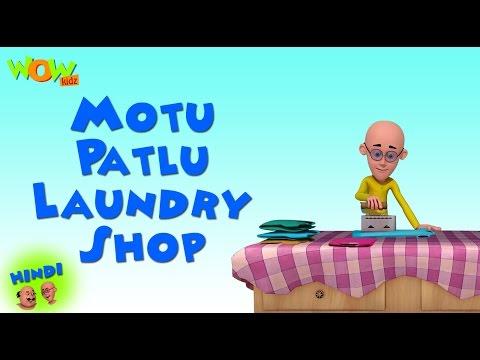 Video Motu Patlu Laundry Shop   Motu Patlu in Hindi   3D Animation Cartoon for Kids   As on Nickelodeon download in MP3, 3GP, MP4, WEBM, AVI, FLV January 2017
